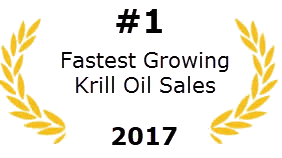 #1 Fastest Growing Krill Oil Sales 2017